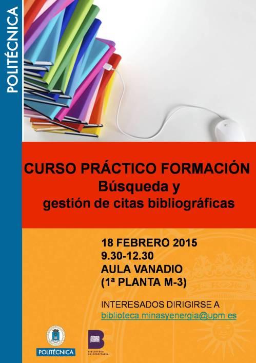 cartel PRACTICAS 2015